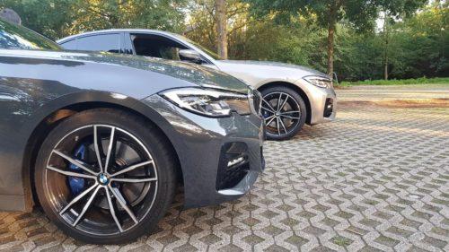 BMW 330d vs BMW 330e