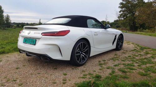 BMW Z4 M40i met dak dicht