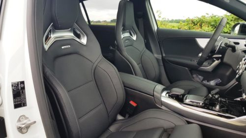 Foto schaalstoelen Mercedes-Benz A45 AMG S