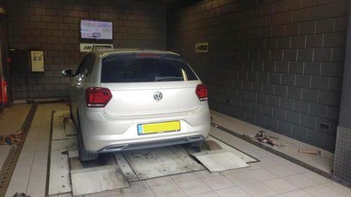 Volkswagen Polo rollerbank