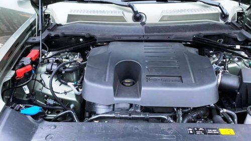 P400 motor Land Rover Defender