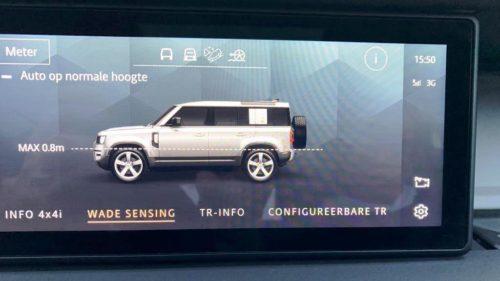 Wade sensing Land Rover Defender