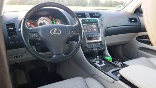 Lexus GS 300 interieur