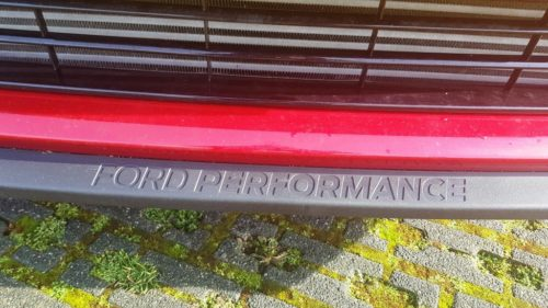 Ford Performance voorspoiler