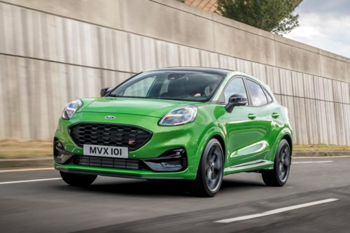Ford Puma ST Mean Green