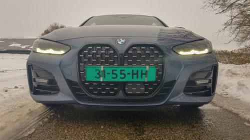 Nieuwe grille BMW 430i coupé