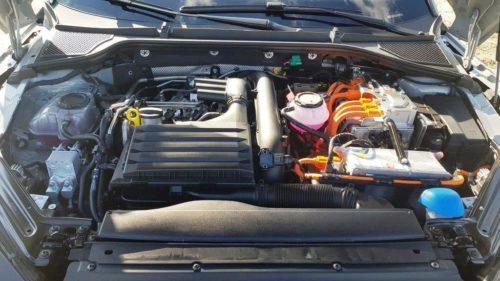 Motorruimte Skoda Octavia RS iV