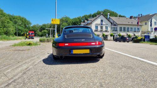 Achterkant Porsche 993