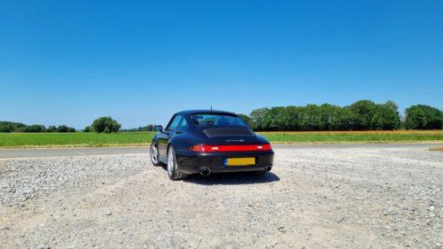 Achterkant Porsche 993 Carrera 4S