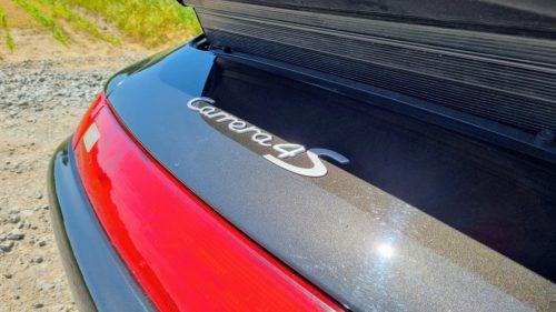 Carrera 4S typeplaatje