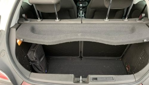 Kofferruimte Opel Adam