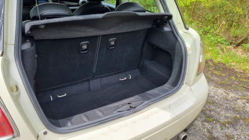 Kofferruimte Mini Cooper 2012