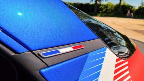 Frans vlaggetje Alpine A110