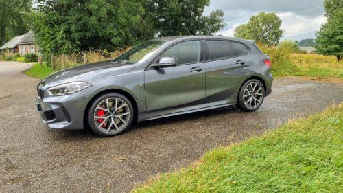 18 inch velgen BMW 128ti